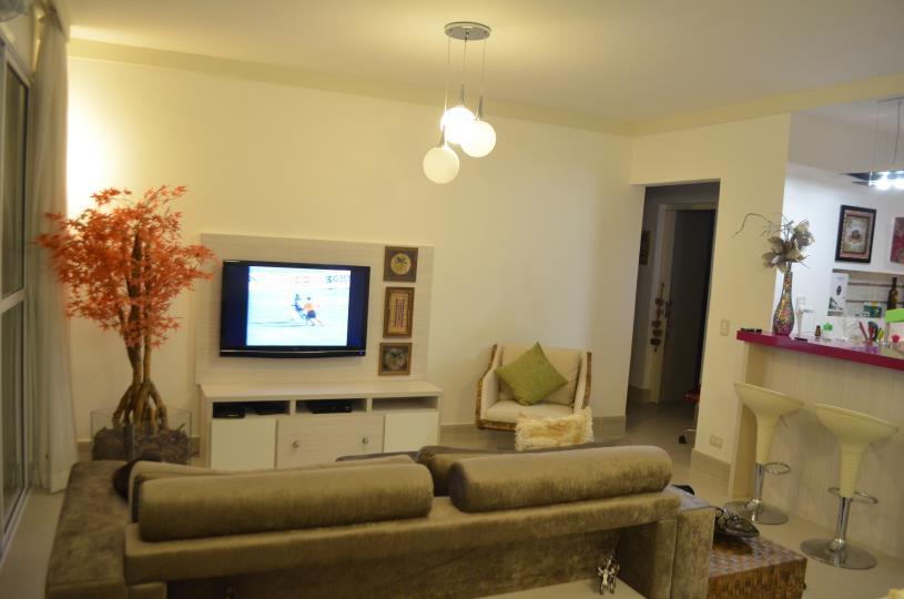 Apartamento a venda na Rua Antônio de Souza, Pitangueiras, Guarujá, SP
